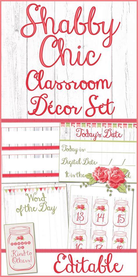 shabby chic classroom ideas best 20 classroom decor ideas on