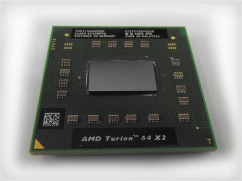 Amd Sockel S1 by Amd Turion 64 X2 Tl56 Cpu Mhv Computershop