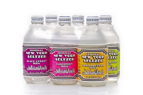 7 Vintage Brands A Comeback by Vintage Soda Brand Original New York Seltzer Is A
