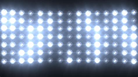 Blue Wall Of Lights Stage Sports Stadium Background Stock Wall Of Lights