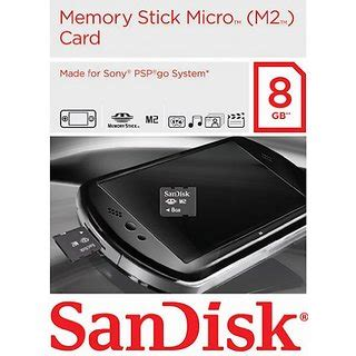 Memory Card Untuk Psp sandisk 8gb gaming memory stick micro m2 for sony psp go buy sandisk 8gb gaming memory stick