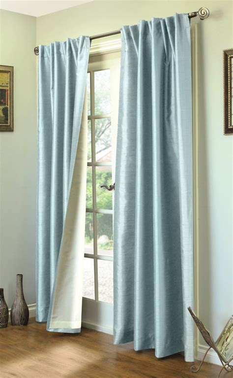 Different Ways To Drape Curtains Decor Rod Pocket Curtains Thecurtainshop
