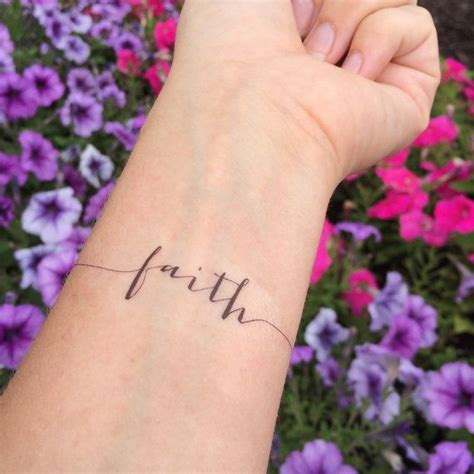 small faith wrist tattoos 25 best ideas about faith tattoos on