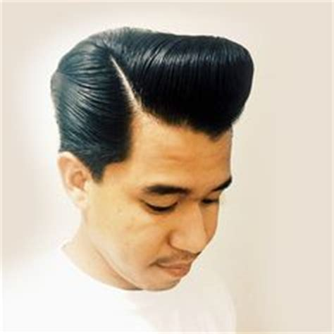Pomade King Pompadour pompadour on pompadour rockabilly and s hairstyle