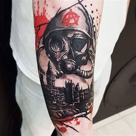political tattoos designs 20 realistic black and trash polka designs