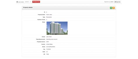 Rental Property Management Application Appgini Applications Web Database Applications In Minutes