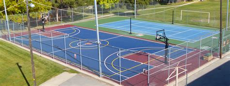 Backyard Basketball Court Tiles by Outdoor Court Flooring Gurus Floor