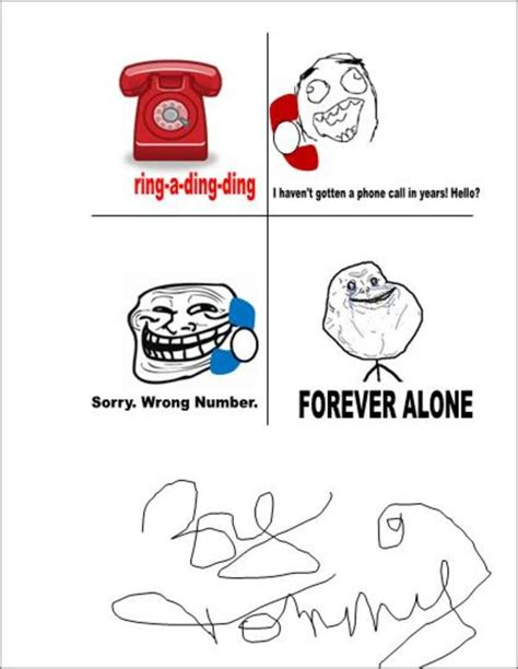 Forever Alone Know Your Meme - image 227252 forever alone know your meme