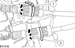 how do i unhook transmission shift cable from a 1993 alfa romeo spider how do i disconnect the shifter cable on a manual 5 speed transmission 2001 ford focus from the