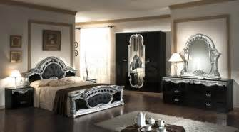 mirrored bedroom furniture set cheap mirrored bedroom furniturerococo pc italian classic black silver bedroom set vkmcrn