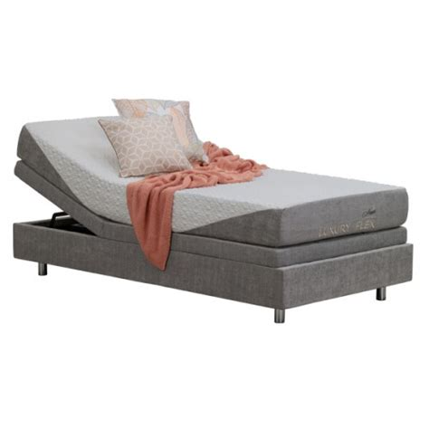 elmers furniture superstores luxury flex gel king single adjustable bed