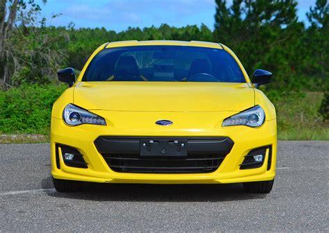 subaru yellow 2017 subaru brz series yellow quick spin review test drive