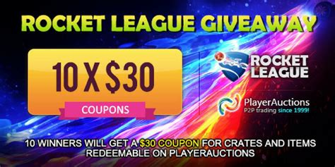 Rocket League Giveaway - playerauctions rocket league trading giveaway playerauctions llc prlog