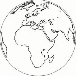 coloring page earth globe images