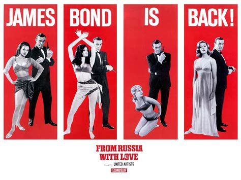 james bond from russia with love ephemera from the second james bond movie from russia with love