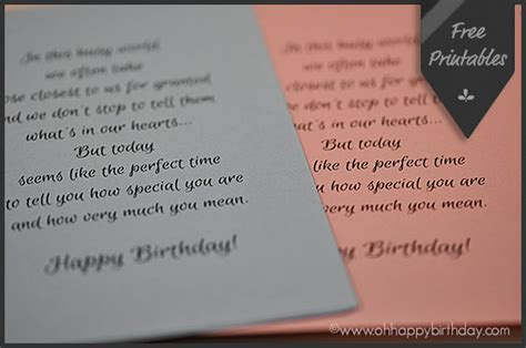 Card Inserts For Handmade Cards - birthday card inserts free printables happy birthday