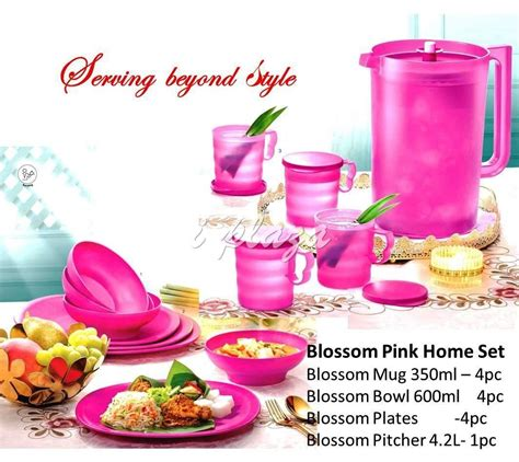 Pink Blossom Set Tupperware tupperware blossom pink serving set end 1 23 2019 3 15 pm