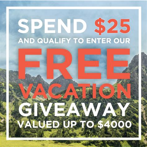 Free Vacation Giveaways - news www jazentea com
