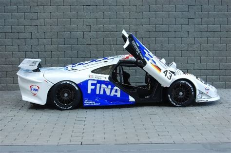 mclaren f1 factory model factory hiro 1 24 car model kit k379 mclaren f1 gtr