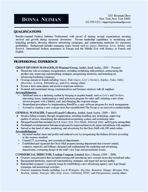 resume sle marketing manager sales and marketing manager resume sle resume writing