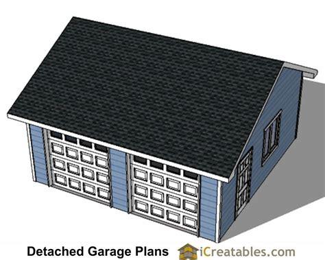 22x22 2 car 2 door detached garage eve over door plans 22x22 2 car 2 door detached garage eve over door plans