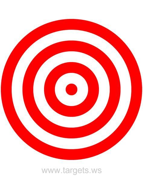 target bullseye targets print your own bullseye shooting targets