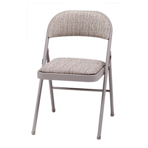 Folding Padded Chairs by Meco Deluxe Fabric Padded Folding Chair Reviews Wayfair