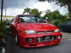 Proton Wira Convert Lancer Mitsubishi Evo3 Retro Rides
