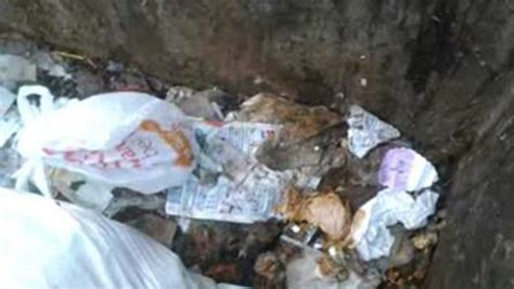 newborn baby found abandoned in dumpster left for dead by