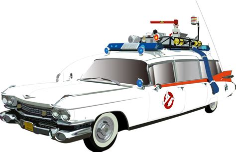 Ecto One Car by Ecto 1 Ambulance Siren For Ghostbusters Cars