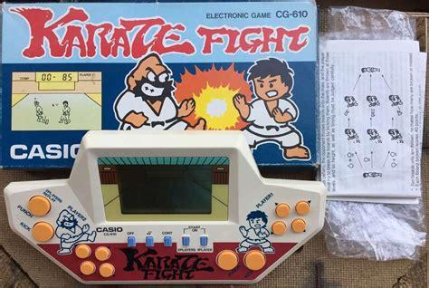Gimbot Casio Karate Fight 1986 karate fight casio 1986