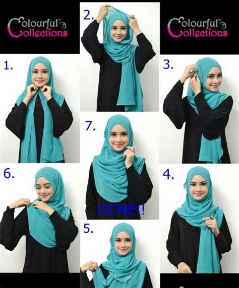 tutorial hijab pashmina pink emma 6458 best headgear of the world images on pinterest