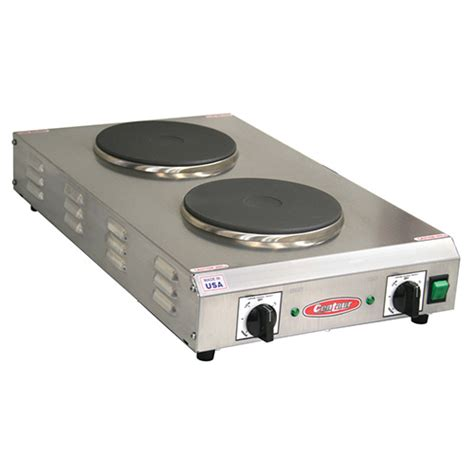 Countertop Stove Electric by Allied Buying Corp Cdr 2cfbcen Electric Countertop Range