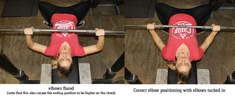 bench press elbows strength training 101 how to bench press safely nerd