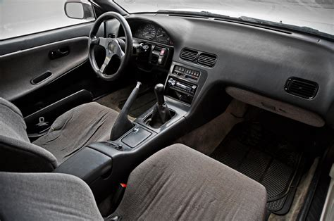 S13 Coupe Interior 1993 nissan 240sx front interior photo 4