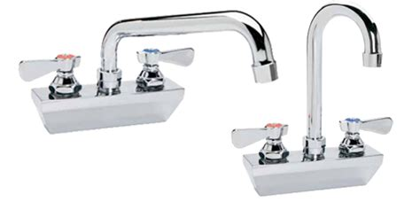 Kason Faucet by Kason Industries 0451kl4400 Series 4 Quot Low Profile Wall Mount Faucets
