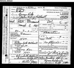 Giles County Va Marriage Records Henry Caldwell 1841 1925 Find A Grave Memorial