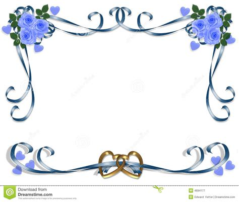 Wedding Border by Blue Wedding Borders Clipart