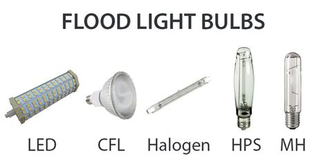 Outdoor Light Bulbs Types What Types Of Light Bulbs Are Used In Outdoor Flood Lights Ledwatcher