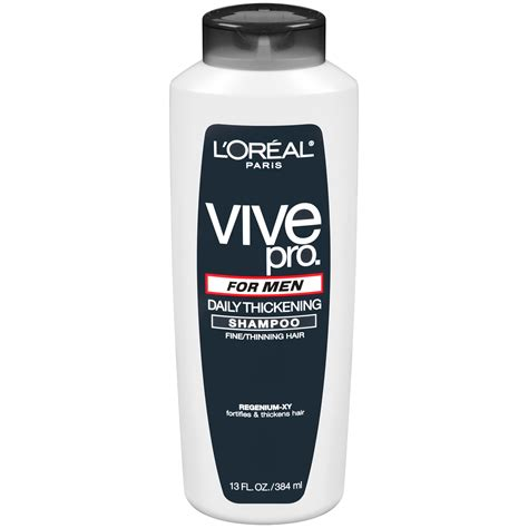 buy l oreal vive pro for daily thickening shoo pack of 2 at low prices in l oreal vive pro for shoo daily thickening for thinning hair 13 fl oz 384 ml