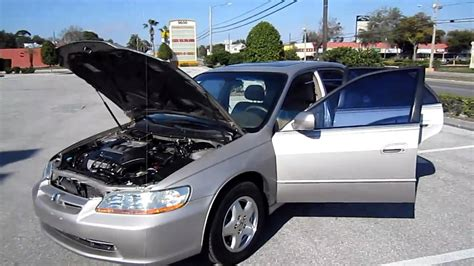1999 honda accord motor sold 1999 honda accord ex l v6 meticulous motors inc