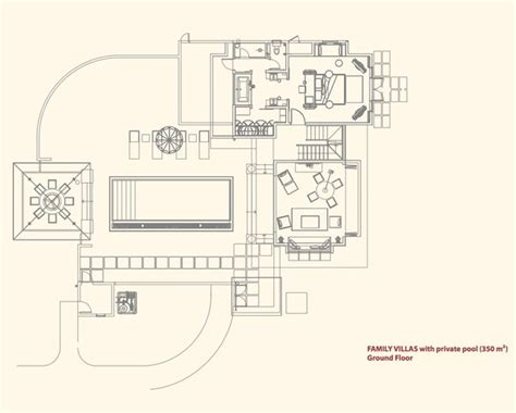 senator 3 bedroom villa ground floor plan constance ephelia resort seychelles the full details