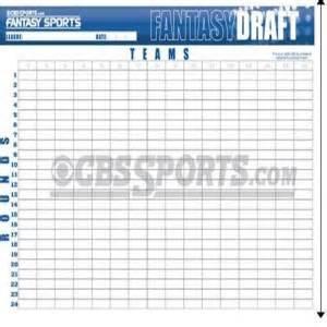 Football Draft Board Template by Football Draft Boards And Kits Sackosource