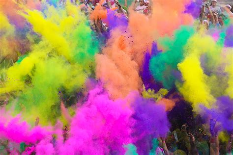 fun colors an interview and the color run happy being healthy