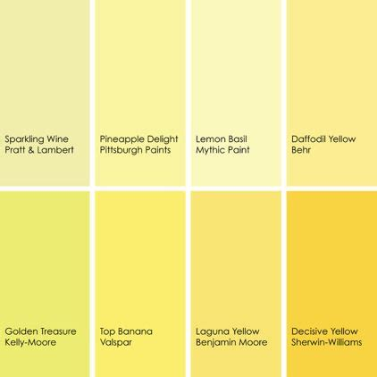 various shades of yellow by jennifer ott design