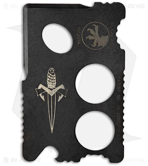 microtech credit card knife microtech assailant credit card knife black titanium bi
