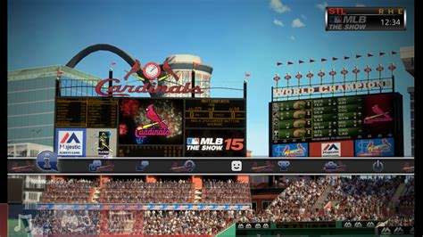 ps4 themes mlb mlb 174 15 the show dynamic theme st louis cardinals on