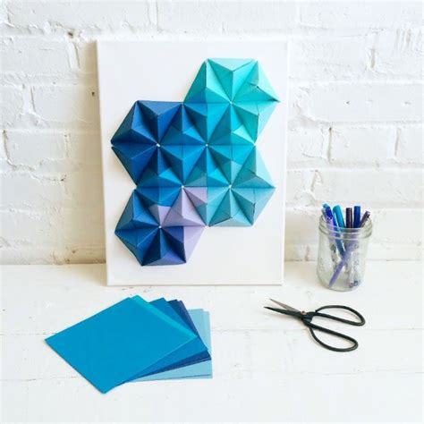 Simple Origami Decorations - origami wall pinteres