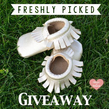 Freshly Picked Giveaway - freshly picked giveaway moccasin love heart of deborah