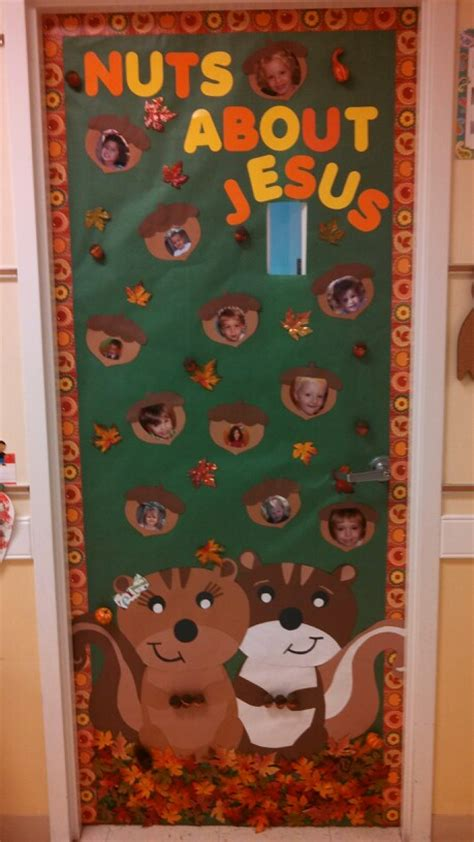 Preschool Door Decorations For Fall by Door For A Christian Preschool 2 Yr Clsss Turned Out